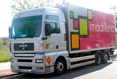 camión de mudanzas internacionales