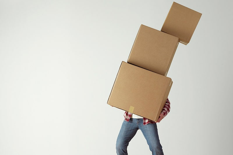 cajas para una mudanza