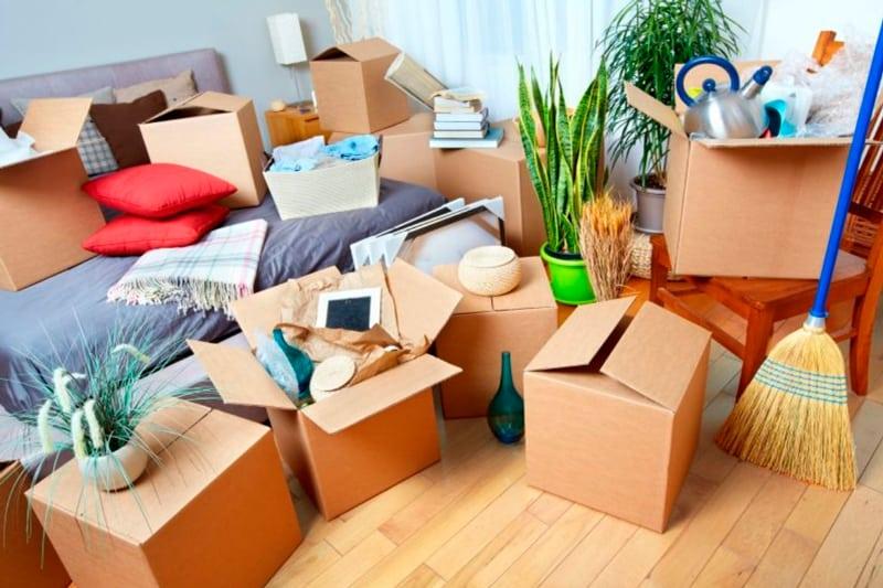 Productos que no debes trasladar en una mudanza